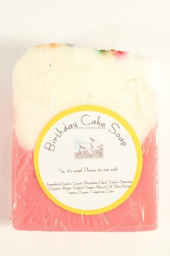 Birthday Cake Soap