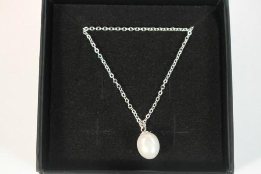 "Julia ""Poised"" Layered Pearl Necklace"