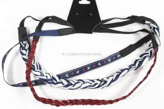 Nautical Headband Set of 3