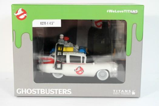 "Titan Merchandise Ghostbusters Titans: Ecto-1 Vinyl Figure, 4 1/2"""