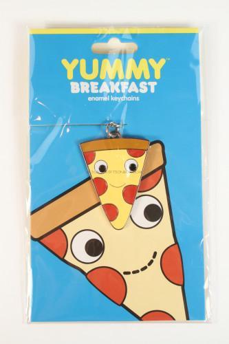 KIDROBOT Yummy Pizza Keychain