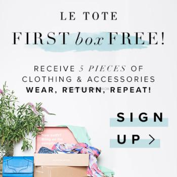 Le Tote Free Month Coupon