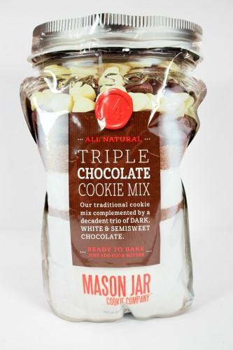 Triple Chocolate Cookie Mix by Mason Jar Cookie Company