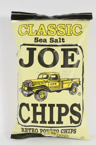 Joe Chips Classic Sea Salt Retro Chips