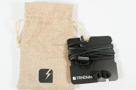 TENDLABS COAL Organic Earbuds