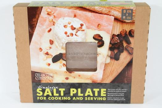 8 x 8 x 1.5″ Himalayan Salt Block by Charcoal Companion