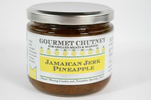 Jamaican Jerk Pineapple Chutney by Wozz! Kitchen Creations