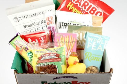EatsieBox July 2016 Review