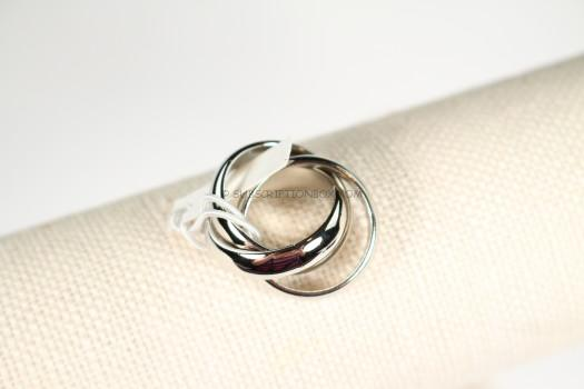 a.v. max Wide Infinity Ring in Silver