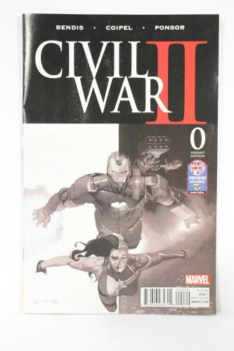 Civil War II Variant Edition