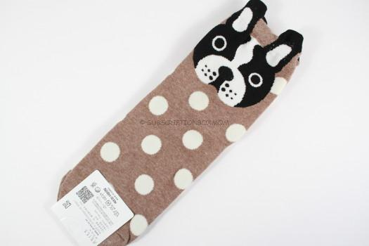 Boston Terrier Aries Total Fashion Socks