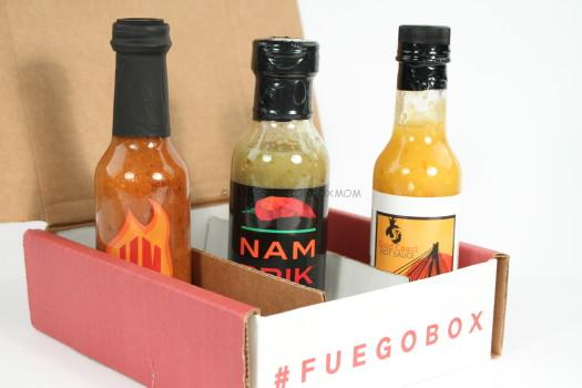 Fuego Box July 2016 Review
