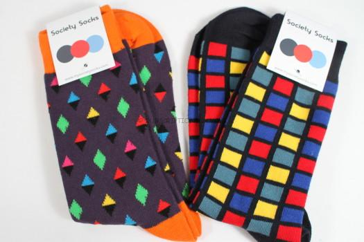 Society Socks July 2016 Review