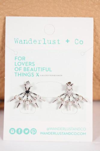 Wanderlust + Co Astral pearl ear cuff