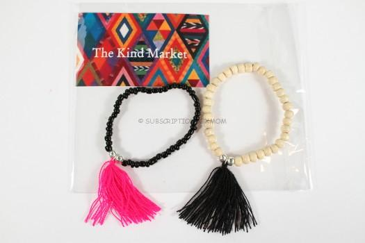 The Kind Market - Coszumel Tassel Bracelet S/2