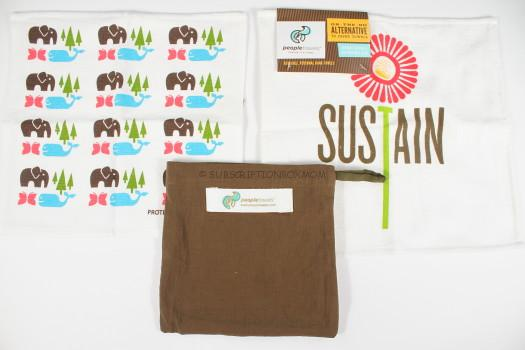Towel Set with Eco Sack - People Towels