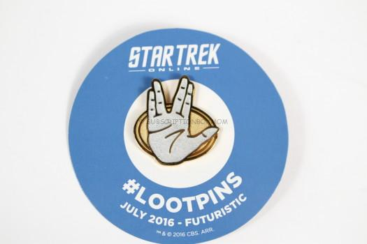 Live Long and Prosper Pin