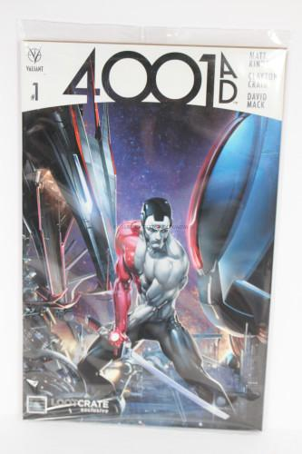 EXCLUSIVE Valiant Comics' 4001 A.D #1