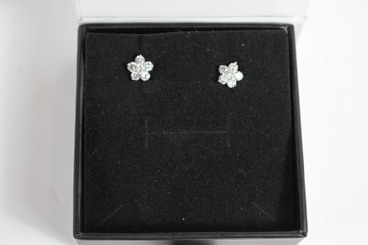 "Cher ""Darling"" Flower Studs"