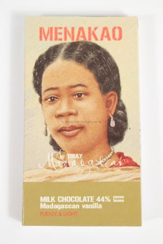 Menakao Milk Chocolate - Madagascan Vanilla