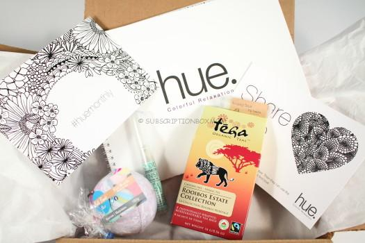 Hue Monthly Colorful Relaxation June 2016 Review