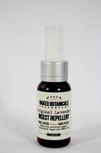 Naked Botanicals Lavender insect repellent