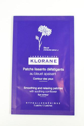 Klorane Smoothing & Relaxing Patches with Cornflower