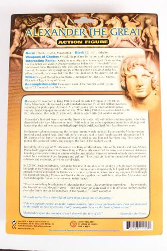 Accoutrements Alexander the Great Action Figure