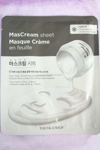 The FaceShop MasCream Sheet - Brightening