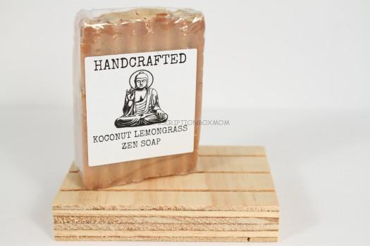 Zen Soap: Handcrafted Soap & Natural Wood Soap Dish