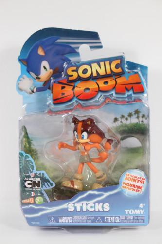Sticks, Tomy, Sonic Boom Action Figure