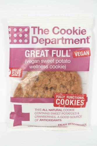 The Cookie Department Great Full Wellness Cookie