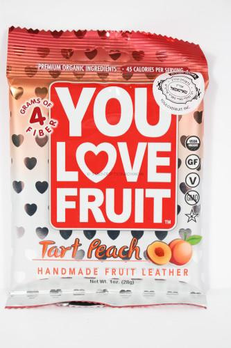 You Love Fruit Tart Peach Fruit Leathers