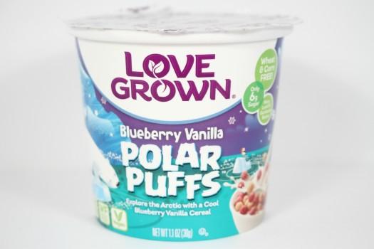 Love Grown Blueberry Vanilla Polar Puffs