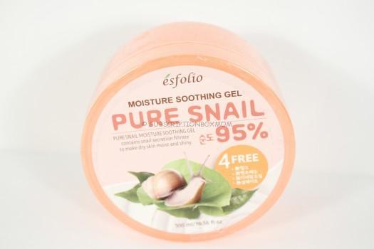 Esfolio Moisture Soothing Gel Pure Snail