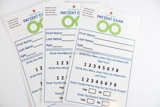 Patient Exam Cards