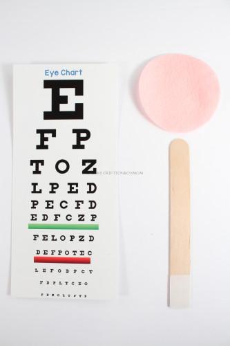 Eye Chart and Tool