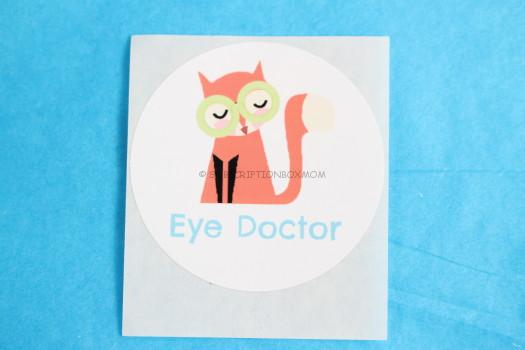 eye doctor sticker