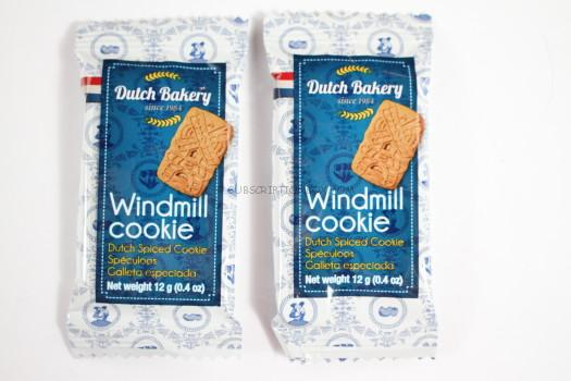 Dutch Bakery Windmill Cookie (Holland)