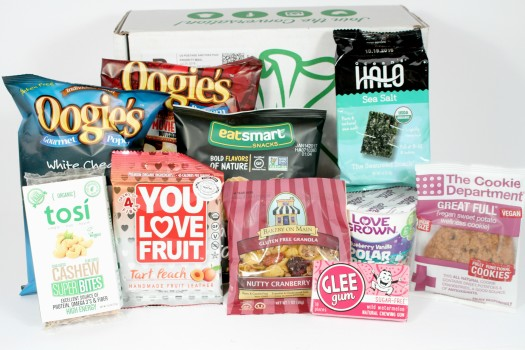 SnackSack July 2016 Review