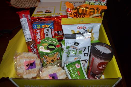 Esian June 2016 Premium Snack Box Review