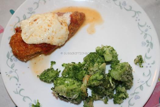 SICILIAN STYLE CHICKEN PARM with Broccoli