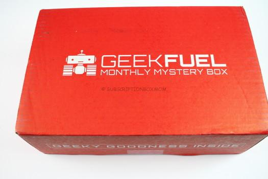 Geek Fuel August 2016 Review