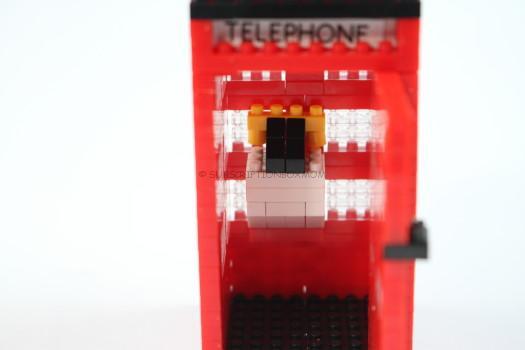 Red Telephone Box - Piggy Bank