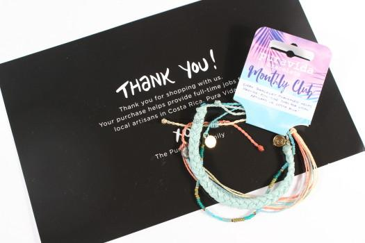 All Three Bracelets Can Be Worn Together For A Coordinated Look Pura Vida Are Covered With Wax And Waterproof