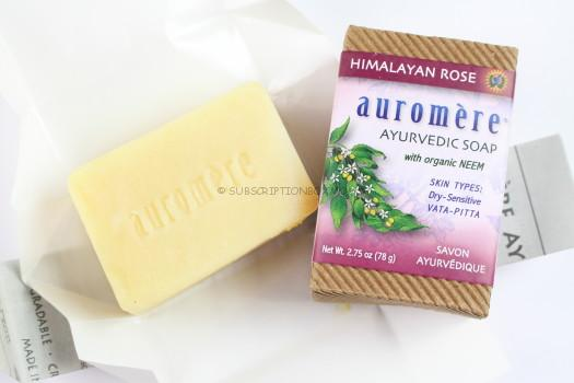Auremere Ayuveda Himalayan Rose Soap