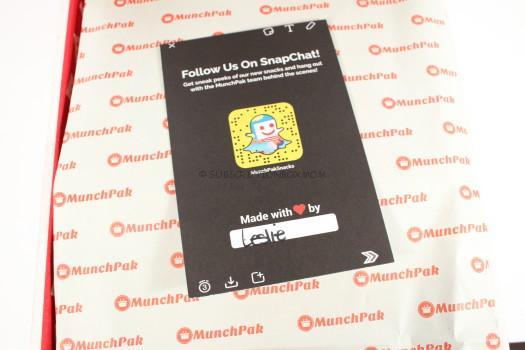 Munchpack App