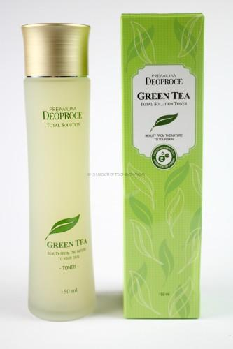 Deoproce Green Tea Essenece Moisture Toner