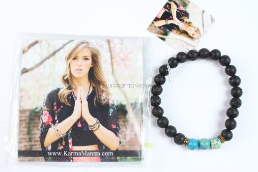 Karma Matra - Buddhi Lava Bracelet