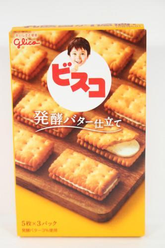 Glico Bisco Butter Jitate Crackers